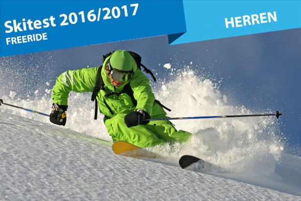Elf Freeride-Ski für Herren 2016/2017 im Test- ©stefcervos