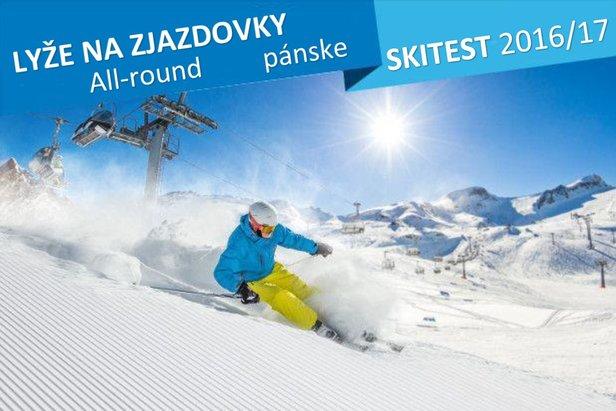 Allround-Ski / Test lyží na zjazdovky 2016/17 / Pánske lyže ©Lukas Gojda