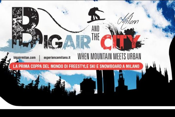 Big Air and the city a Milano: Freestyle e Snowboard in città! ©Big Air and the City