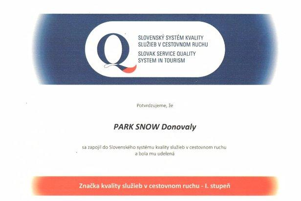 Certifikát kvality služieb získalo lyžiarske stredisko na Donovaloch 3903e320640