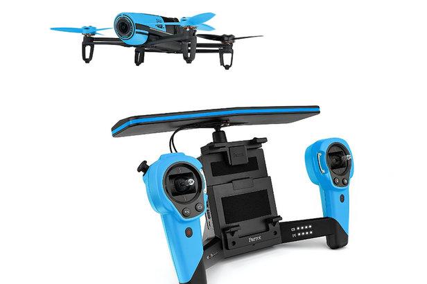 Drone BeBop Parrot pour explorer les pistes enneigées