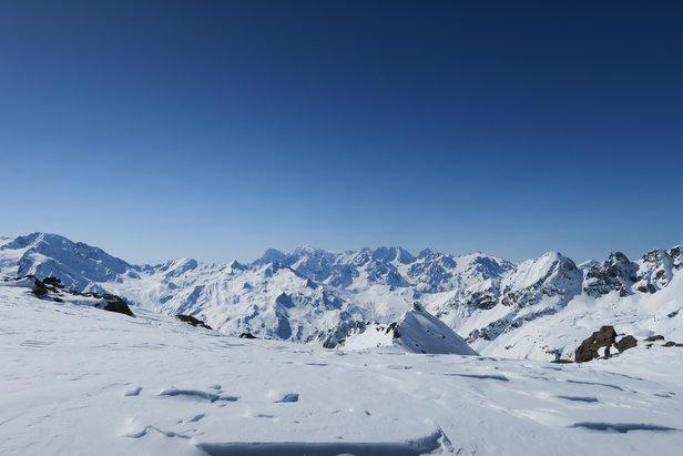De spisse fjellene i Alpene kan ta pusten fra en.  - © Øydis Kristine Flateby