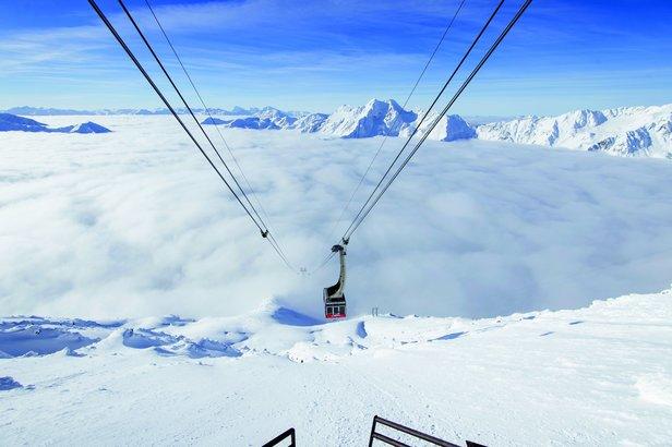 Tipy na jarní lyžovačku: 5 nejlepších lyžařských středisek v Itálii- ©Schnalstaler Gletscherbahnen-Alex Filz