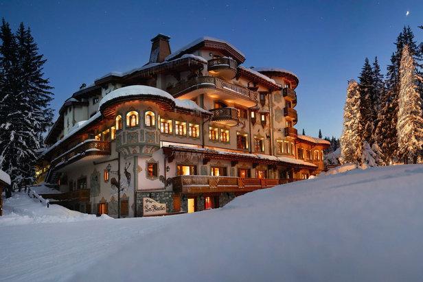 Visite guidée de quelques hôtels prestigieux en station de ski ©Les Airelles Courchevel