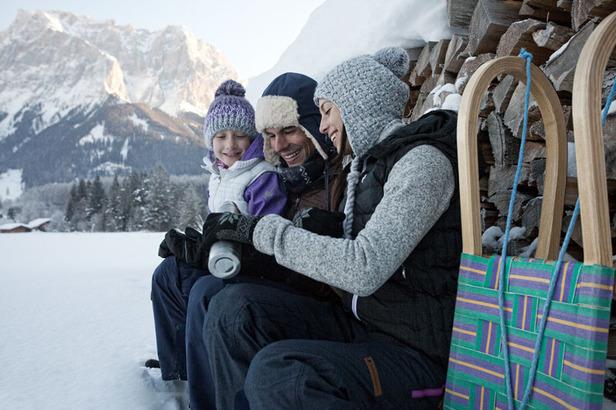 Winterwandern in der Tiroler Zugspitz Arena