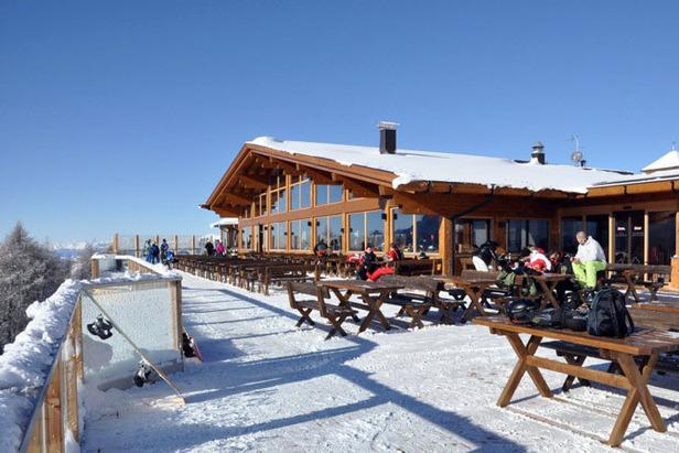 Helm-Restaurant in den Sextner Dolomiten