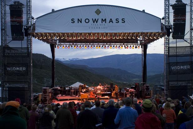 Snowmass CO summer concert 1