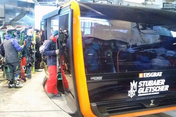 Nowa gondola Eingratbahn to najdroższa tego typu inwestycja w Austrii - kosztowała około 260 mlionów złotych  - © Tomasz Wojciechowski