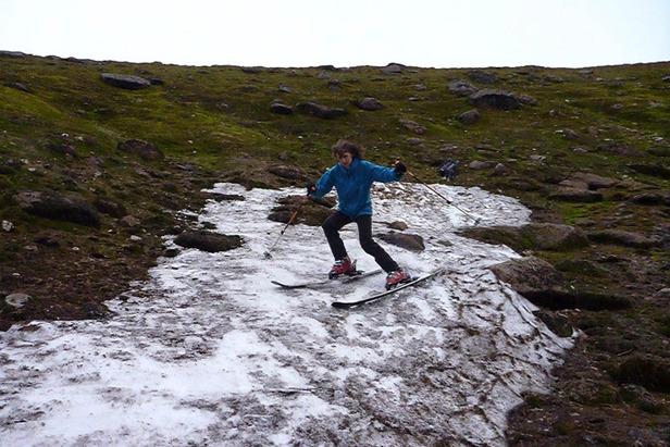 September Skiing In Scotland