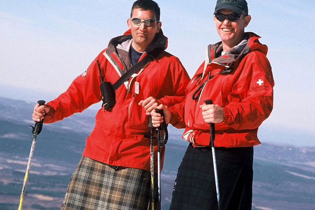 World Record For Skiing in Kilts