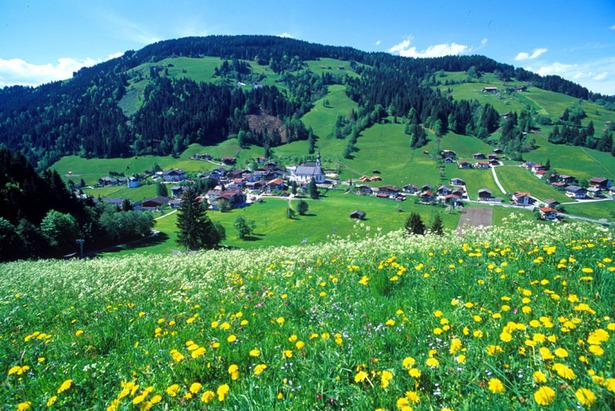 Panoramaaussichten in Wildschönau