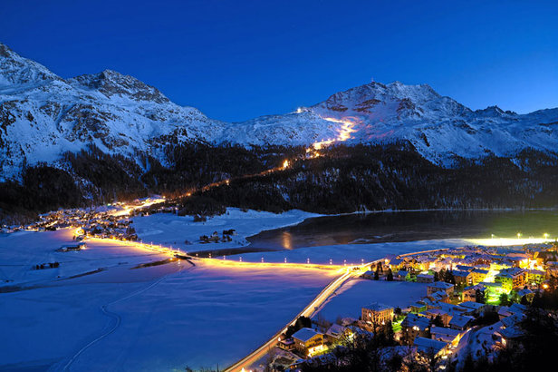 Snow Night am Corvatsch
