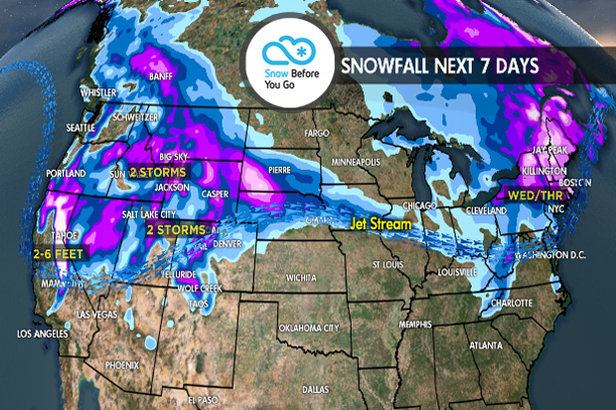 3.15 Snow Before You Go: 2-6 FEET to Whiteout Parts of West