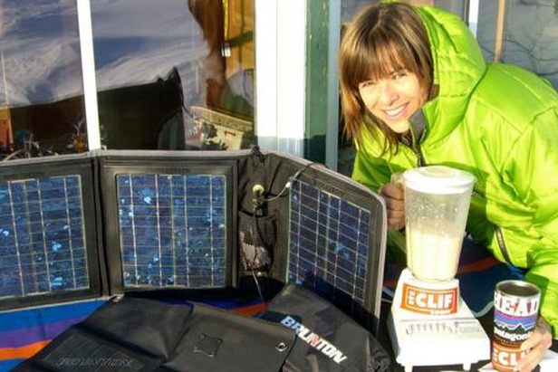 Ski Environmentalist Walking To Copenhagen Climate Talks Carrying Skis