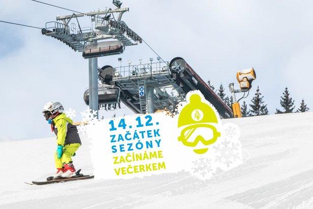 Startujeme Ski Areál Kopřivná sezóna 2018/2019 ©Ski Areál Kopřivná