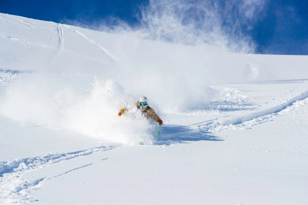 Squaw Valley | Alpine Meadows in Lake Tahoe has received over 11 feet of snowfall this February.  - © Squaw Valley | Alpine Meadows