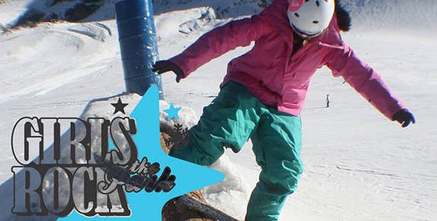 Camp für Snowboard- und Freeski-Girls