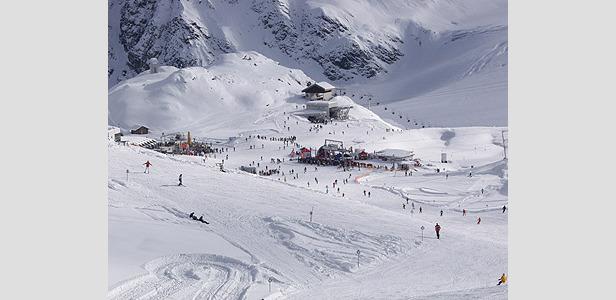 Schneeschuhwandern am Pitztaler Gletscher
