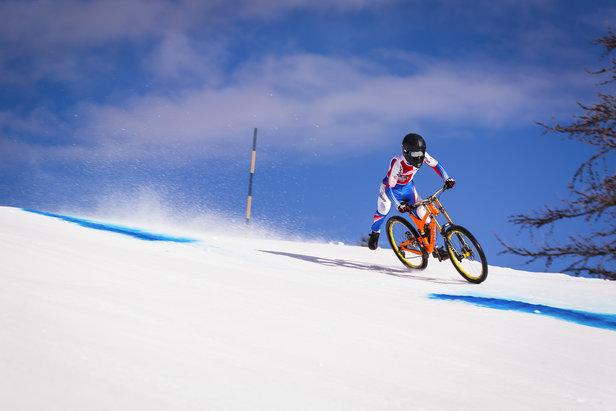 L'Alpine Snow Bike débarque sur les pistes de Vars- ©Richard BORD