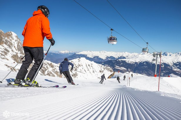 Eight of the deepest snow bases to ski this Easter- ©Courchevel Officiel/Facebook
