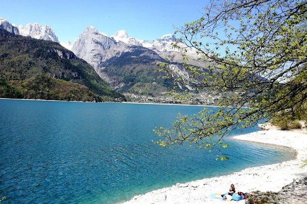Lago di Molveno na východnej strane Brenty severne od Gardského jazera  - © facebook | Marta Margonari