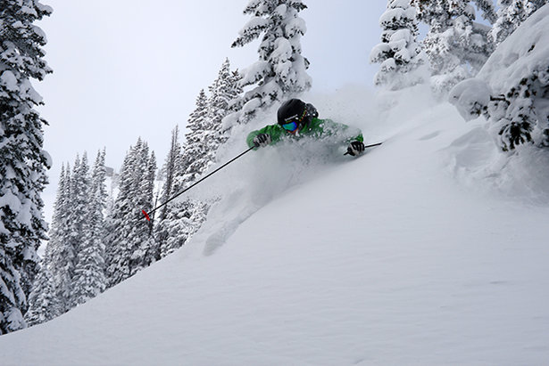 4 Feet of Snow at Steamboat's Summit This Week & More in the Forecast- ©Steamboat