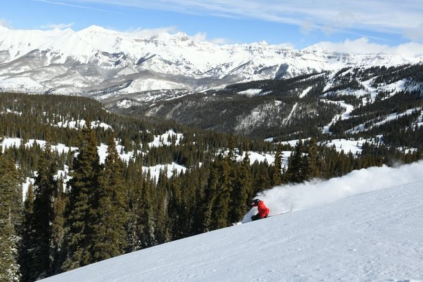 Who Got the Most Snow This Week? ©Telluride Ski Resort