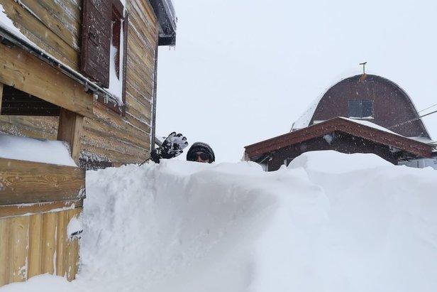 FOTO: Veľa čerstvého snehu v TalianskuVal di Fassa Facebook