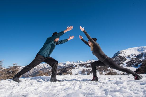 Et si vous profitiez de vos vacances au ski pour vous initier au Yoga ?