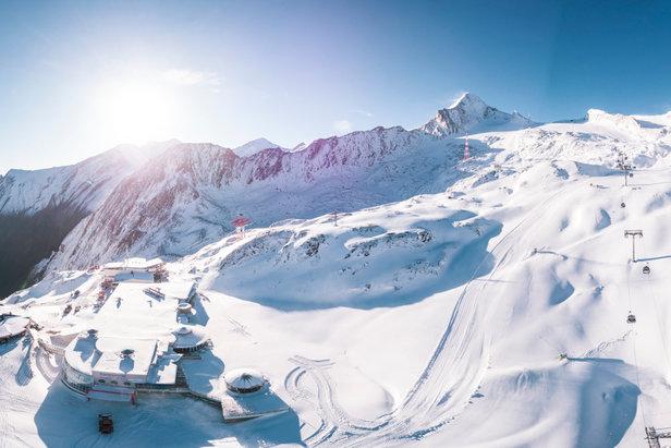 Skisaison startet: Kitzsteinhorn öffnet ab dem 12. Oktober die PfortenKitzsteinhorn