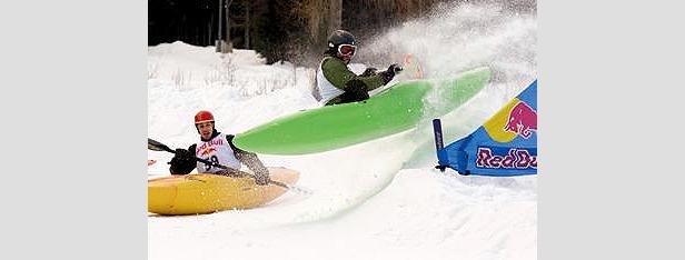Osttirol - snow kajaks