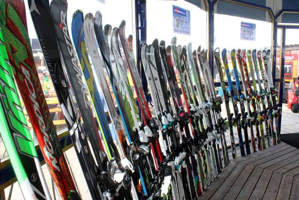 Skiinfo beim World Ski Test 2012- ©Skiinfo.de/Sebastian Lindemeyer