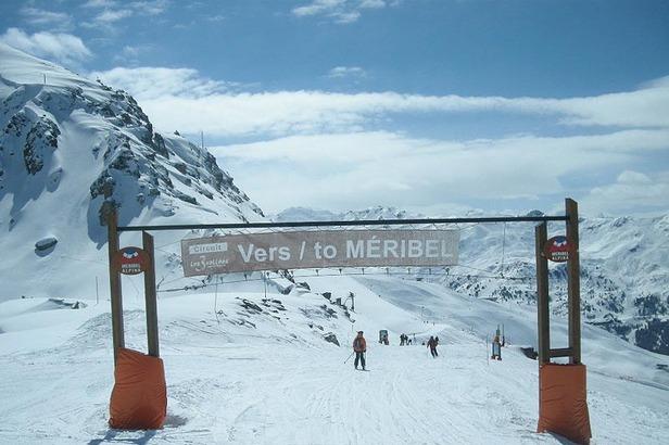 Skifahren in Meribel