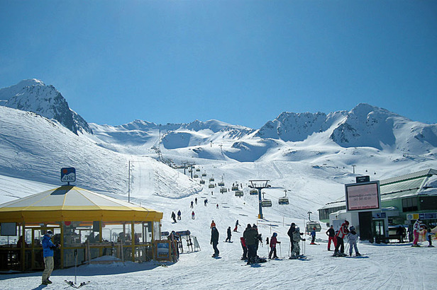 Skifinale: Feiern bis der Schnee schmilzt- ©Markus Hahn