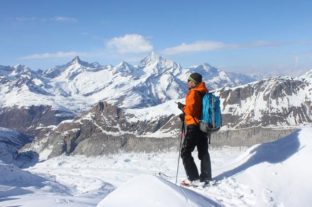 Freeriden in Zermatt