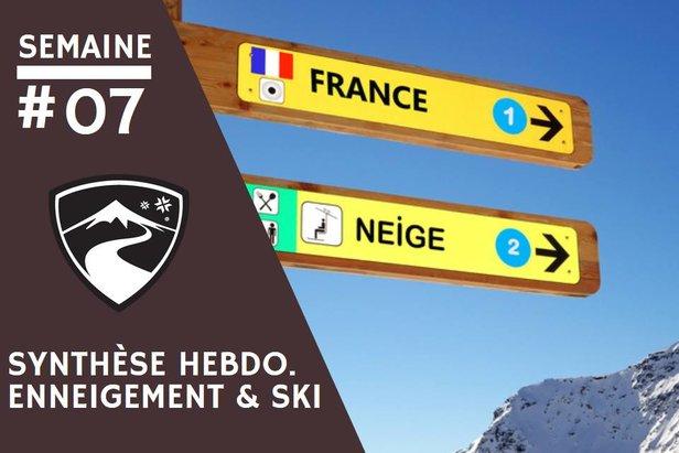 Rapport hebdomadaire du 12 février 2020 et synthèse des conditions d'enneigement dans les stations de ski françaises (évolution des hauteurs de neige, taux d'ouverture des domaines skiables...)