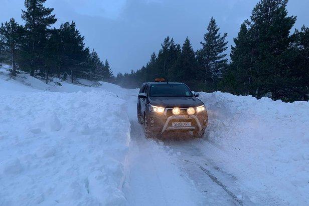 Fantastic snow in Cairngorm Mountain, 6.2.21  - © Cairngorm Mountain/Facebook