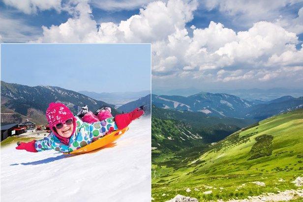 Júnový víkend v Jasnej s rodinnou zábavou na snehu!TMR, a.s