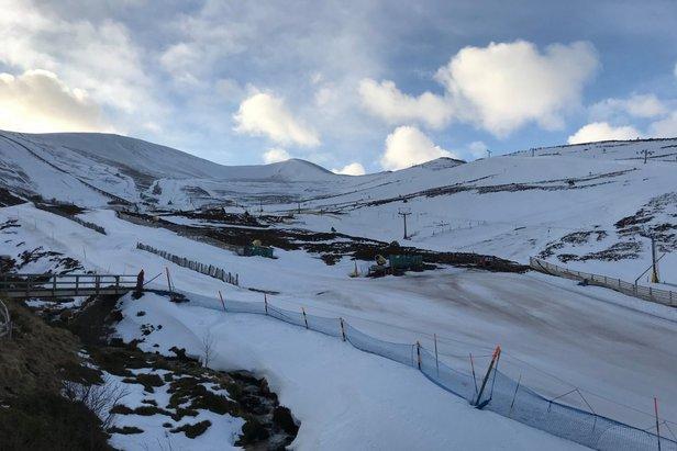 Light snow forecsat in Cairngorm tonight 17/3/20  - © Cairngorm/Facebook