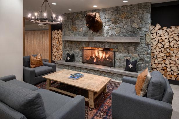 Modern and minimalist — Alta's luxury refined.   - © Courtesy of Snowpine Lodge