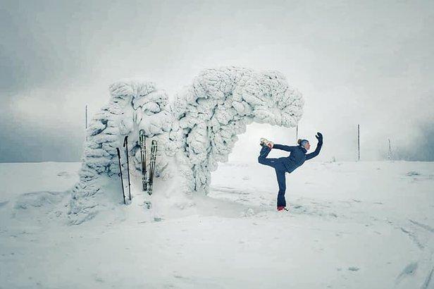 Na zasněžených horách je radost relaxovat. I bez lyží. :)