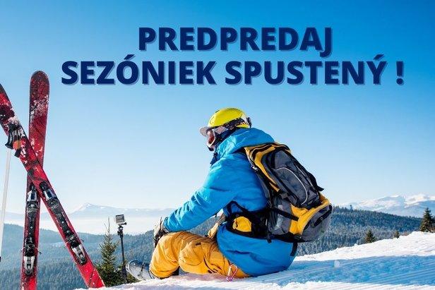 Online predpredaj sezónnych skipasov je spustený!Snowparadise Veľká Rača