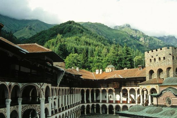 Rila Monastery makes for a great day trip from Bankso ski resort  - © Rila Monastery