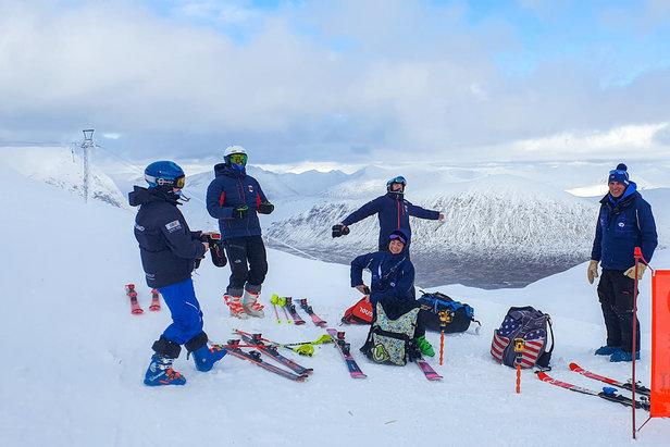 Scottish ski team arrive in Glencoe for training 12.2.21  - © Glencoe/Facebook