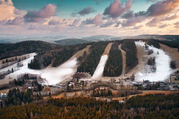Ski aréna Karlov - zasněžování spuštěno!