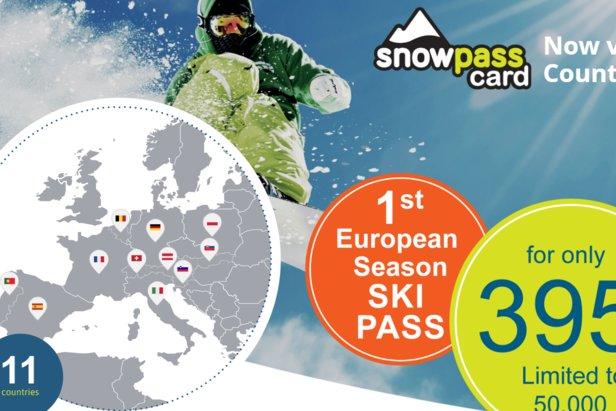 Snowpass Card: Skipas platný v 11 krajinách a 113 lyžiarskych strediskách ©snowpass.com