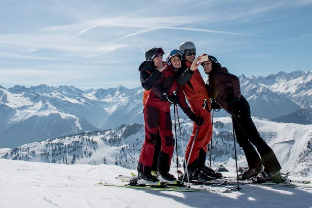 Unlimited fun with the Zillertal Superskipass  - © Zillertal Tourismus GmbH/Thomas Straub