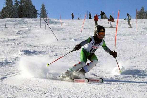 Kleine Skitalente trotzen der Kälte- ©SV DJK-Kolbermoor