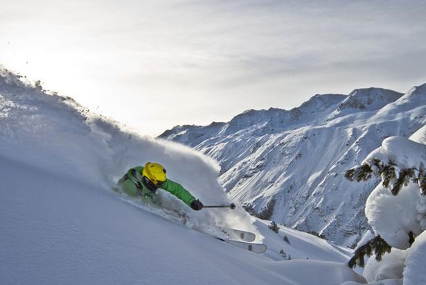 Special Skitechnik: Richtig Skifahren im Tiefschnee  ©Skylotec
