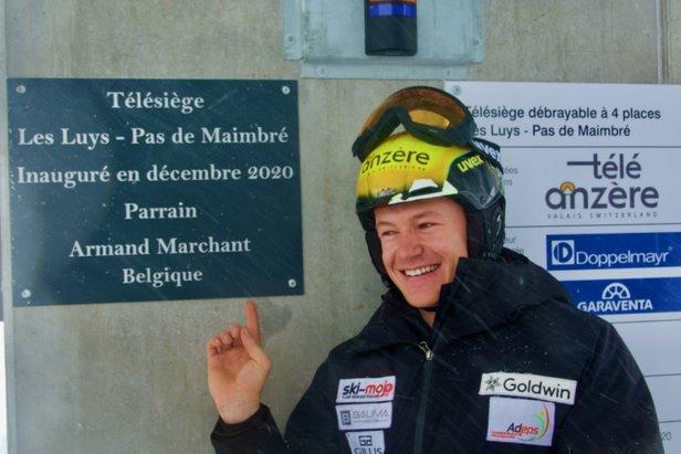 Anzère en Swisspeak Resorts hoofdsponsors van de Koninklijke Belgische Ski FederatieJurgen Groenwals